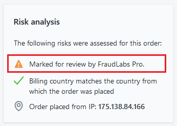 Shopify risk analysis
