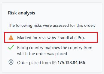 Shopify risk analysis