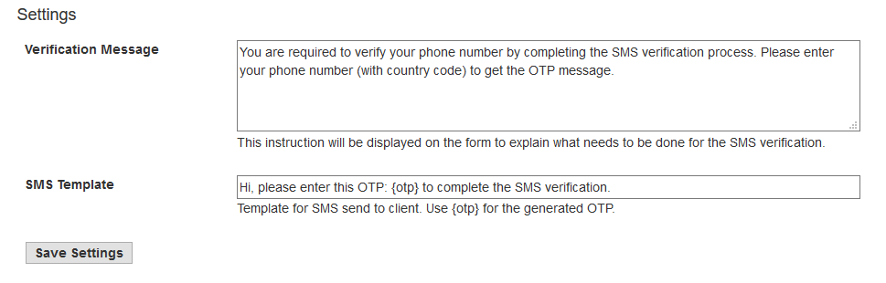 FraudLabs Pro Add-Ons SMS Verification Setting in Shopify