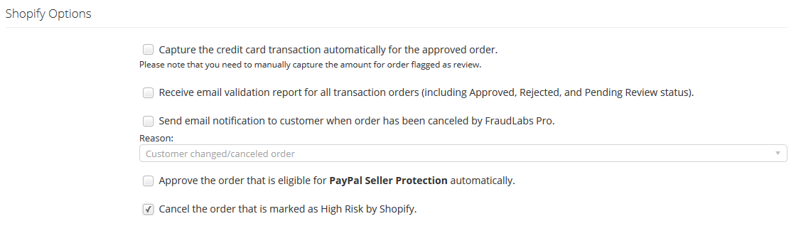 shopify high risk order cancel