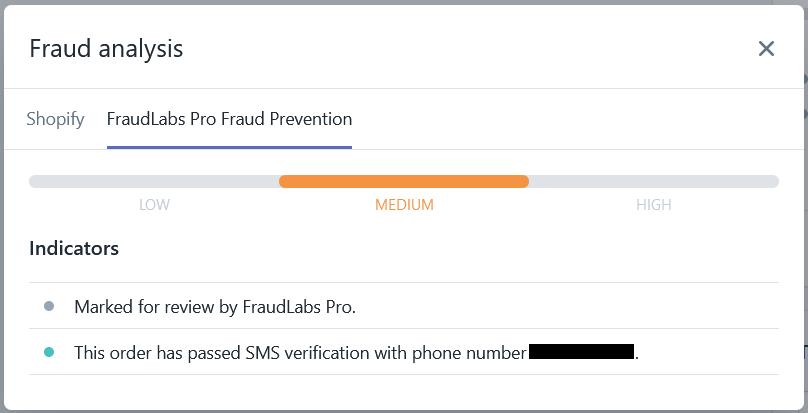 Fraud analysis update
