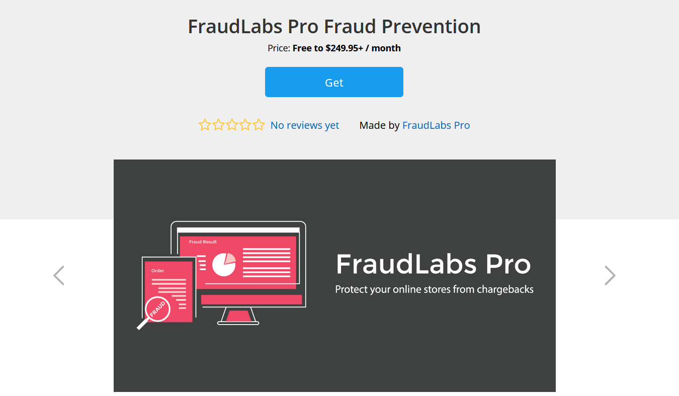 Get FraudLabs Pro Fraud Prevention App