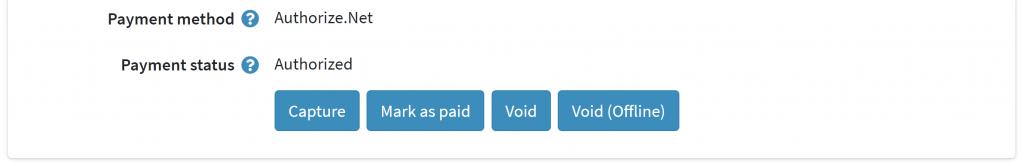 Capture Payment Option